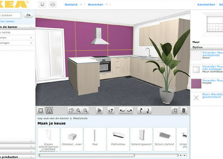 3D-tekenprogramma-IKEA-planners
